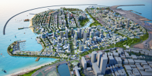 The planned Hambantota port city and prospective world financial hub